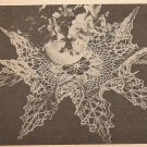 Crochet - Wild Rose Ruffle Doily  (ref: e1118c)