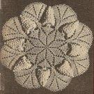 Crochet - Wild Grape Doily (ref: e1140c)