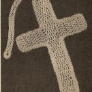 Crochet - Cross Bookmark (ref: e1148c)