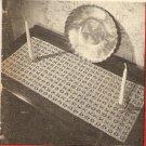 Crochet - Dresser Scarf (ref: e1174c)