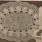 Crochet - Monkey Lace Doily (ref: e1183c)