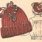 Knit  - Mock Cable Hat (ref: e1185k)
