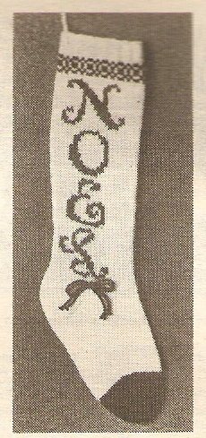 Knit  - NOEL Stocking (ref: e1192k)