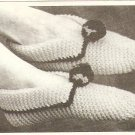Knit  - Easy Slippers  (ref: e1205k)