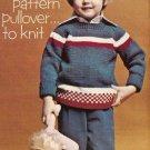 Knit  - Child's Crew Neck Pullover (ref: e1214k)