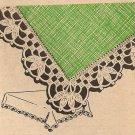 Crochet - Duchess Edging (ref: e1221c)