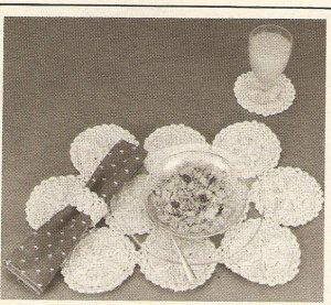 Crochet - Table Setting (ref: e1225c)