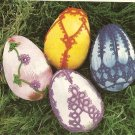 Tatted - Egg Decorations (ref: e1227t)