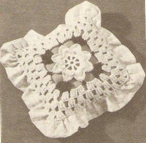 Crochet - Pillow and Gingham (ref: e1228c)