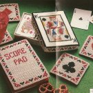 Cross Stitch - Cards Coaster Set (ref: e1229cs)