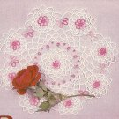 Tatted - Roses Doily (ref: e1248t)
