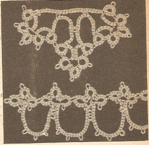 Tatted - Medallion Motif With Matching Edging (ref: e1255t)