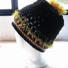 STEELERS Pittsburgh NFL  - Crochet Ponytail Hat