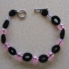 Tatt Bracelet Black and Pink