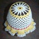 Crochet DAISY Bonnet For Infant