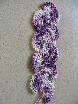 FAN Bookmark - Varigated Purple