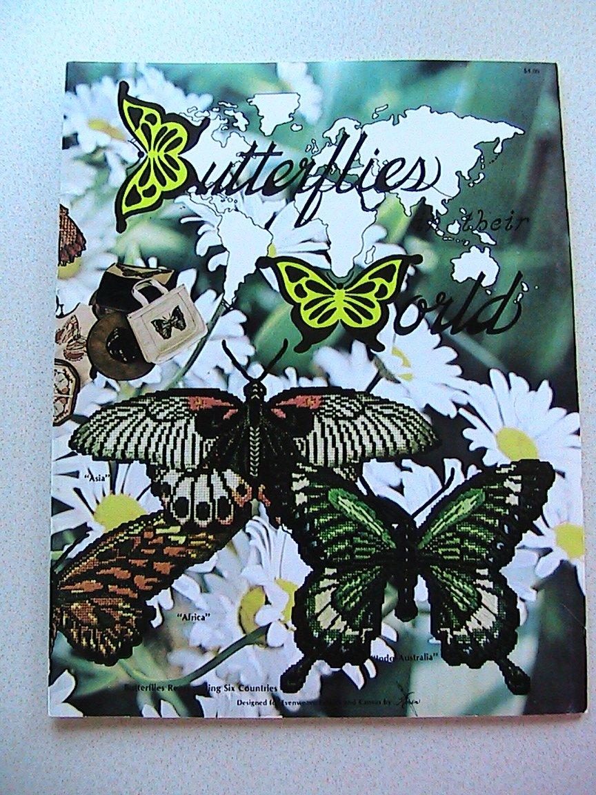 BUTTERFLIES In Their World - Plastic Canvas
