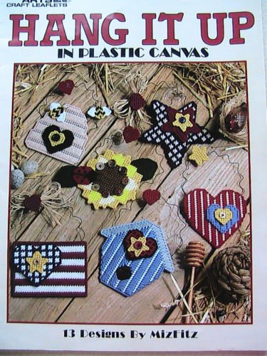 Hang It Up in Plastic Canvas - Leisure Arts