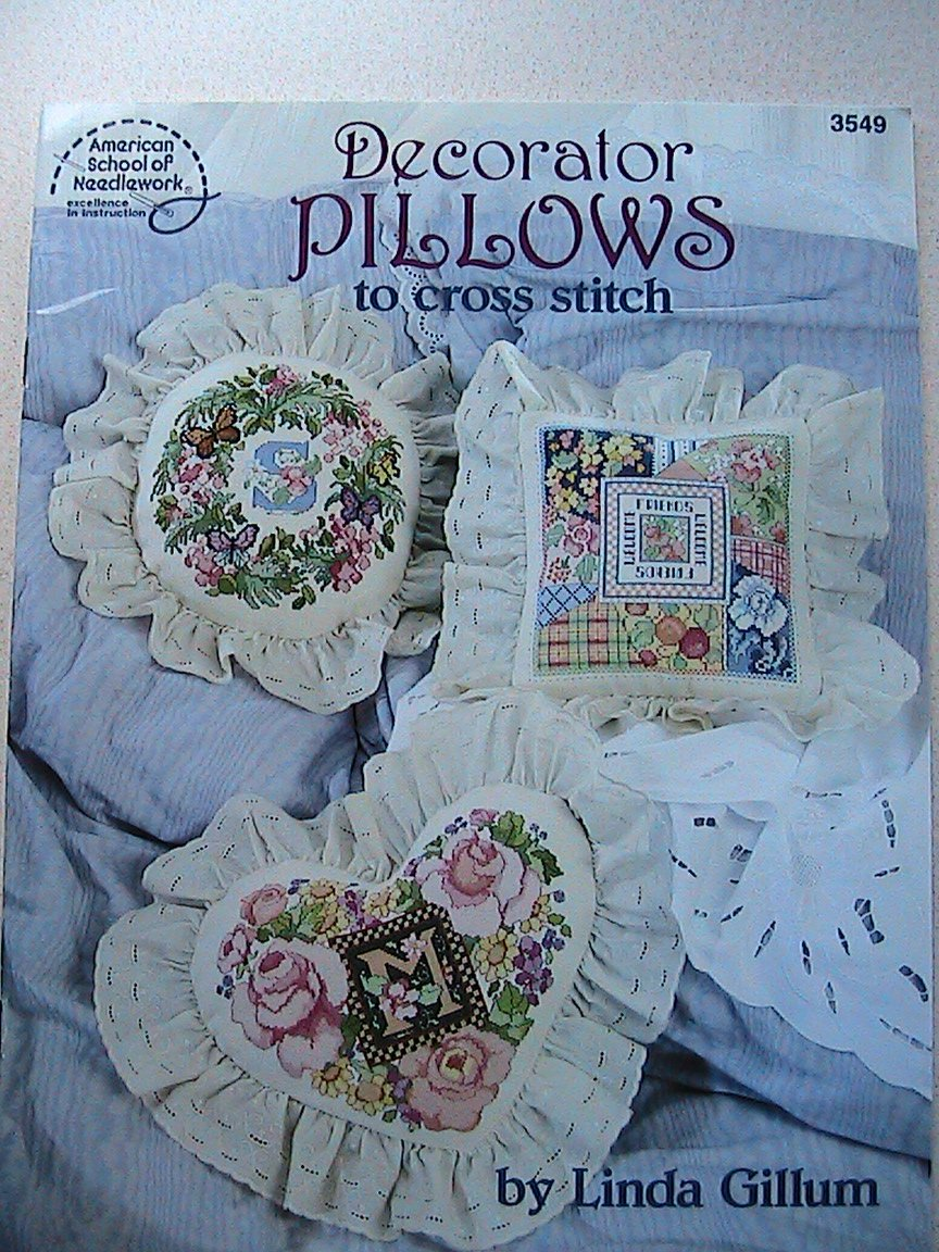 Decorator Pillows to Cross Stitch
