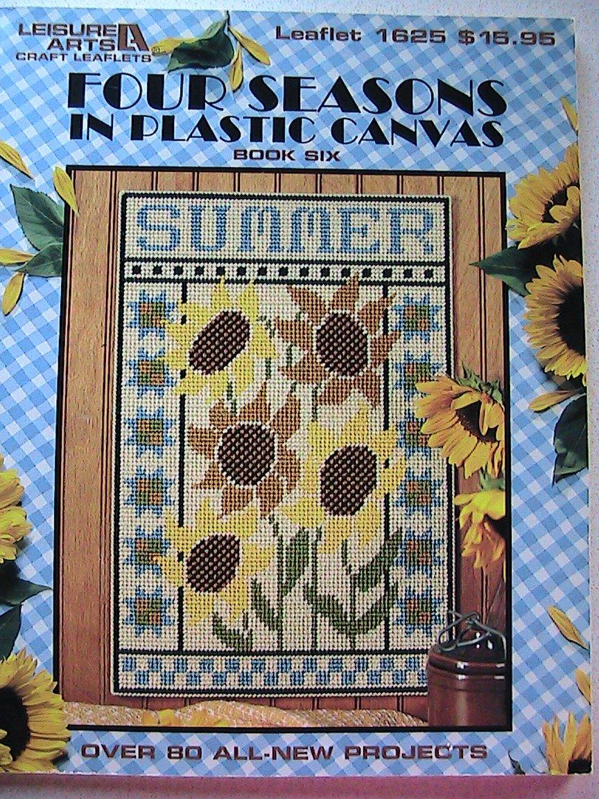 Cross Stitch FOUR SEASONS in Plastic Canvas Leisure Arts Leaflet 1625 Book 6
