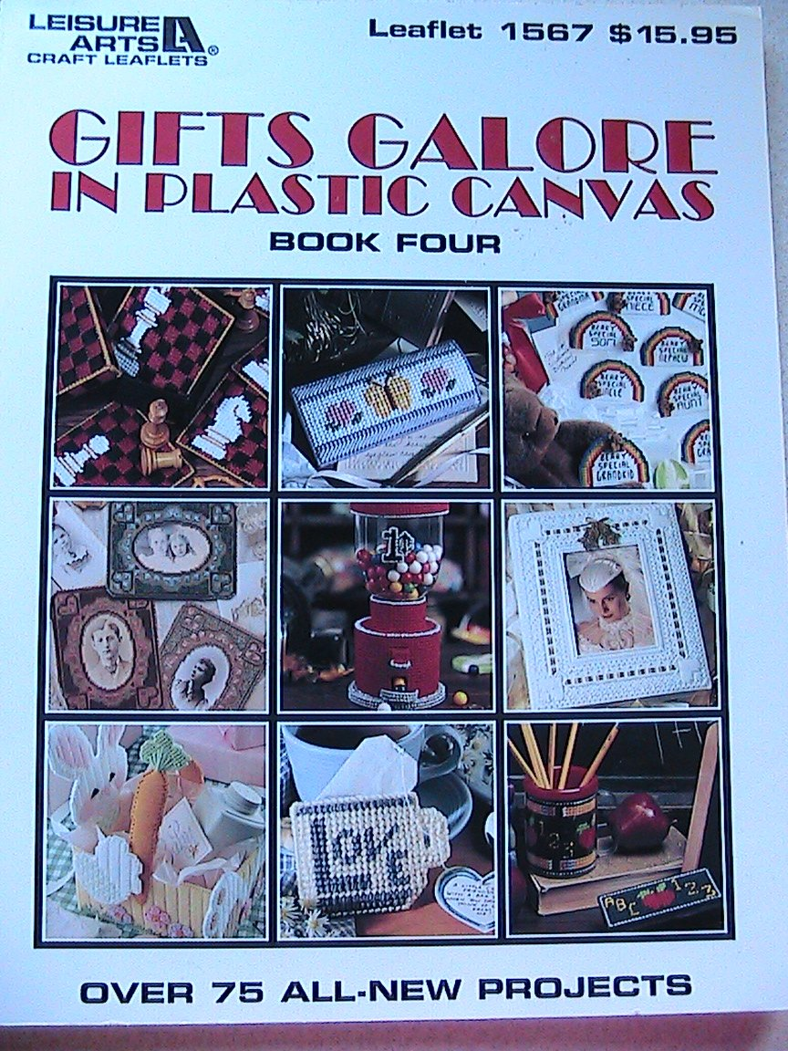 Gifts Galore In Plastic Canvas * Book 4 * Leisure Arts Leaflet 1567
