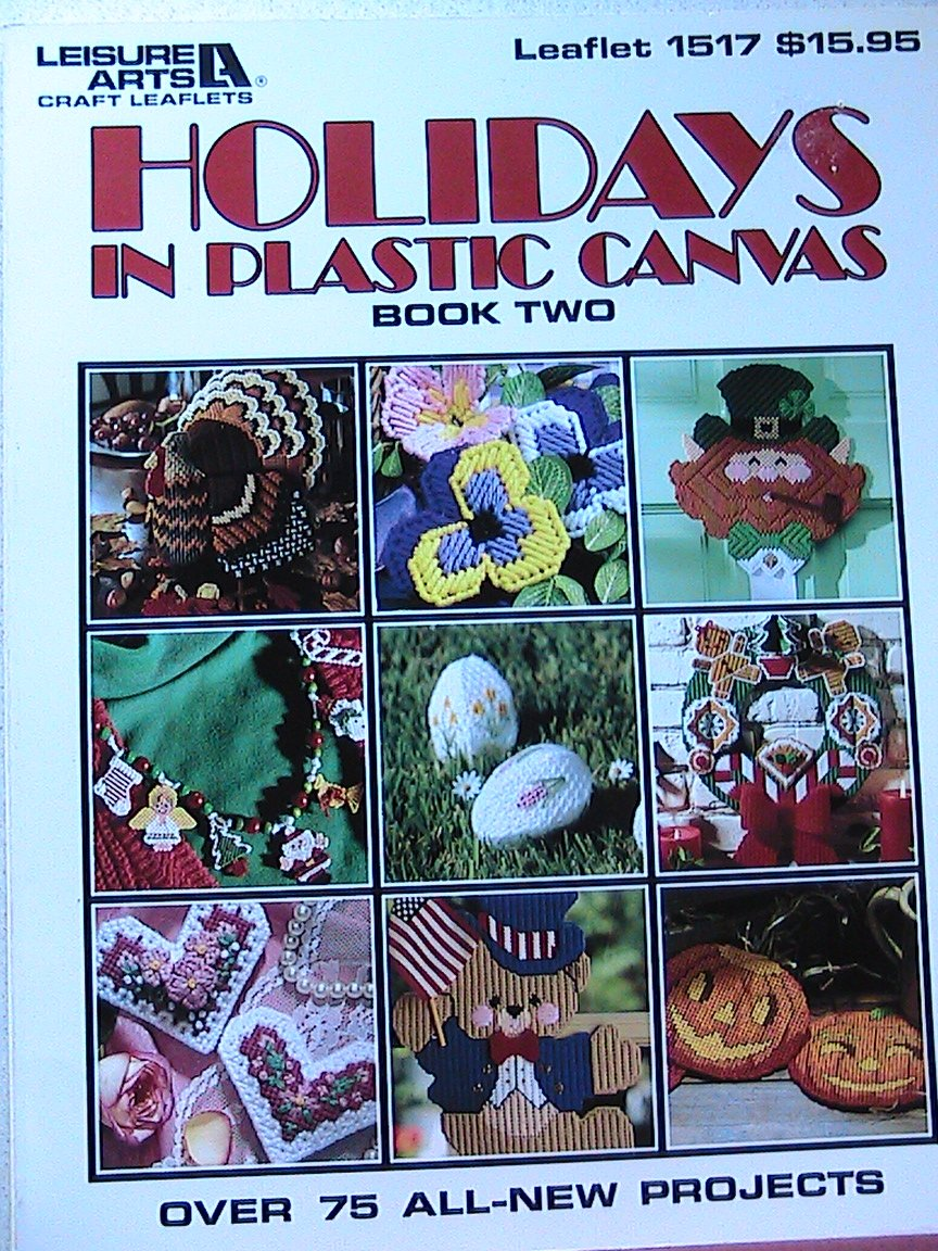 Holidays in Plastic Canvas - Leisure Arts Leaflet - Book 2