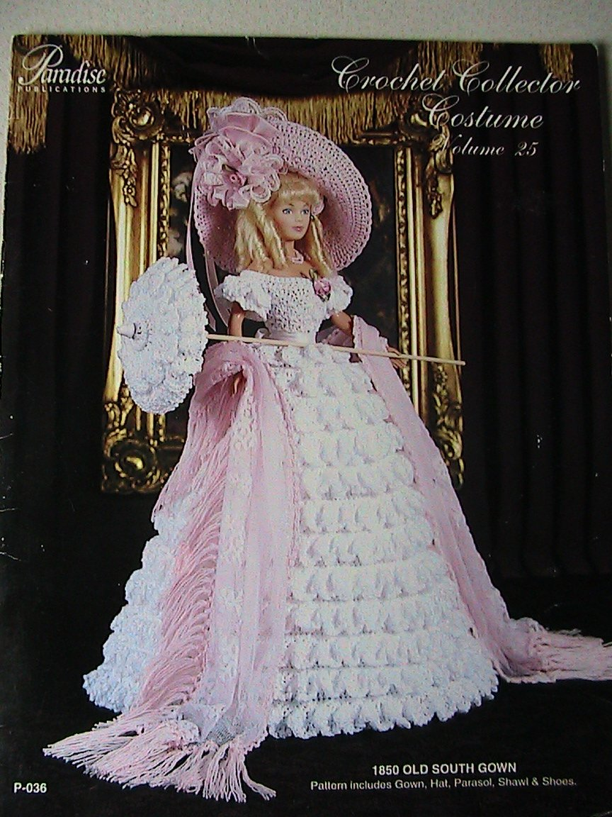 1850 Old South Gown - Crochet Collector Costume