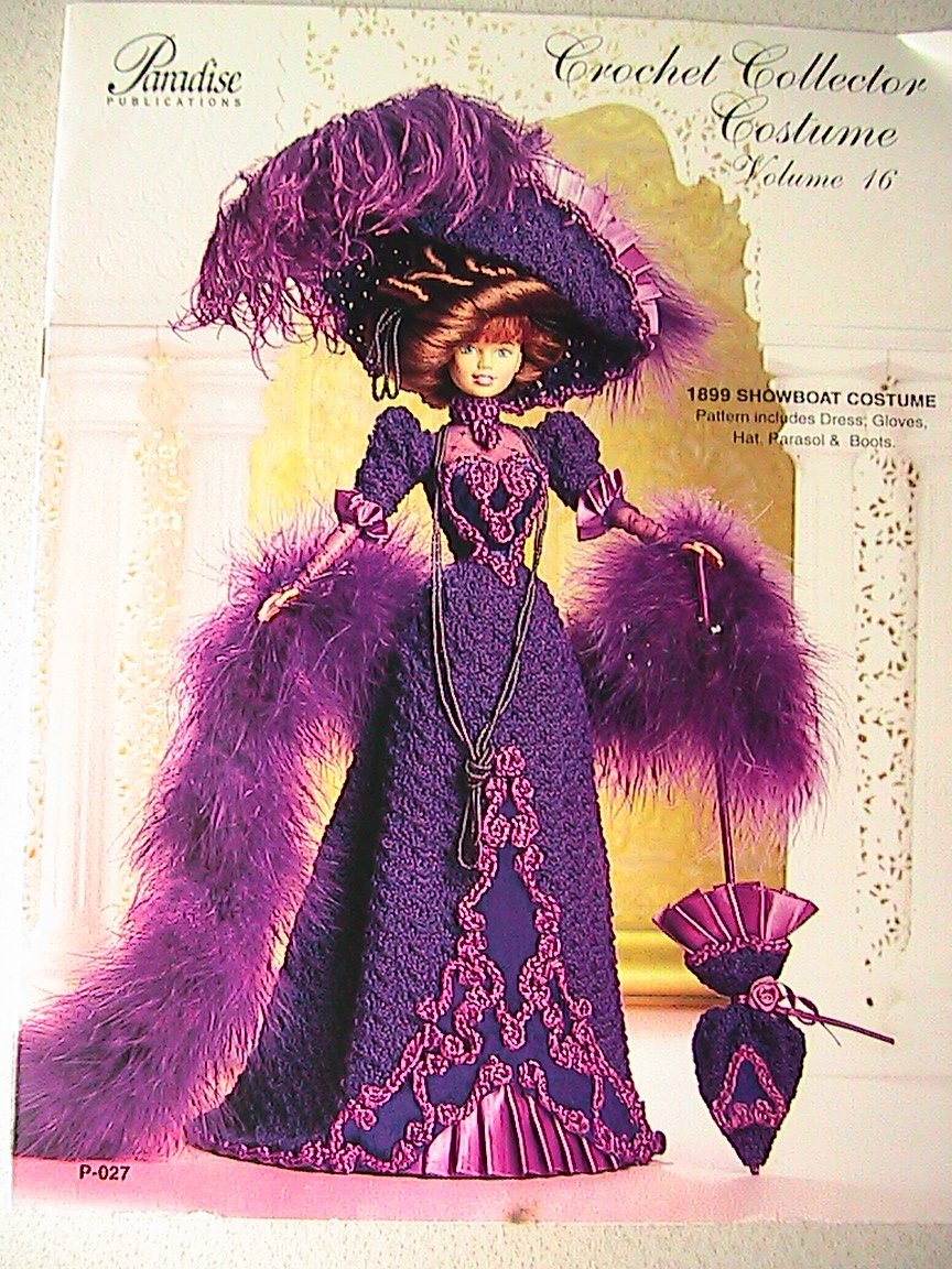 1899 Showboat Costume - Crochet Collector Costume