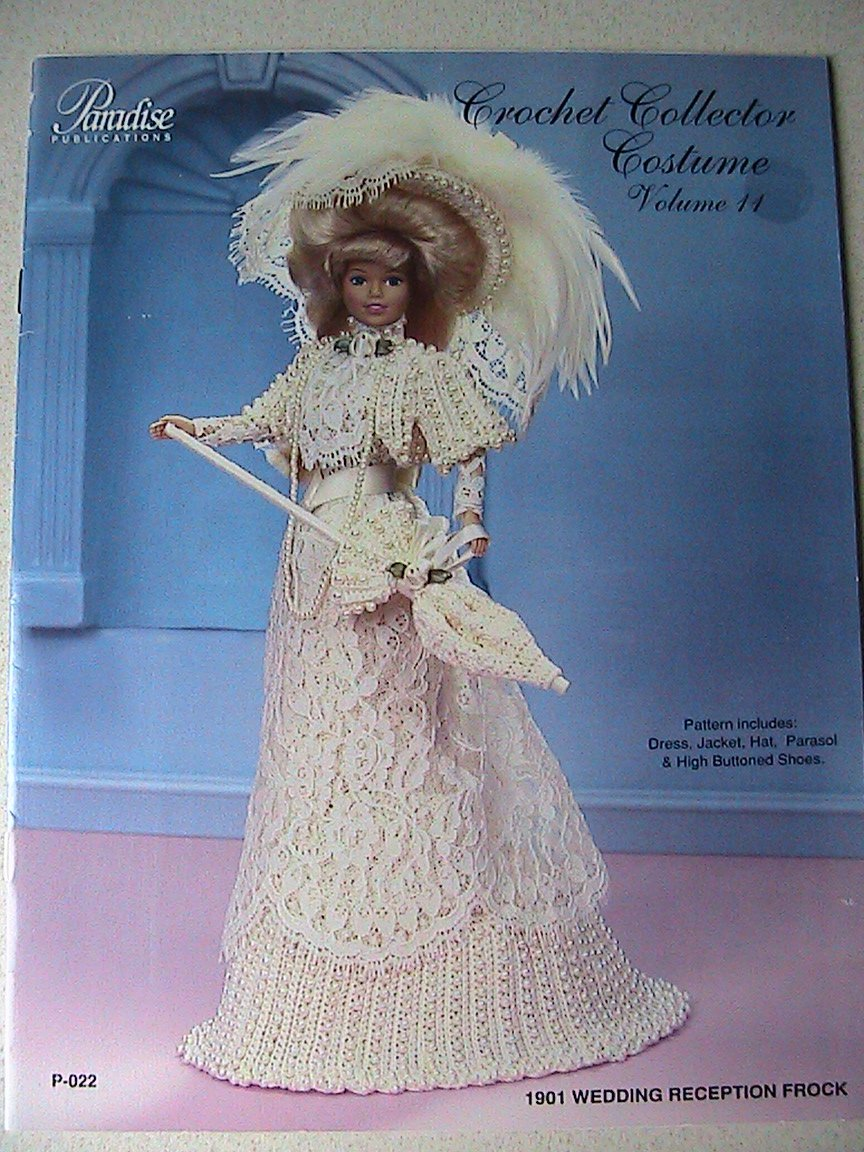 1901 Wedding Reception Frock - Crochet Collector Costume