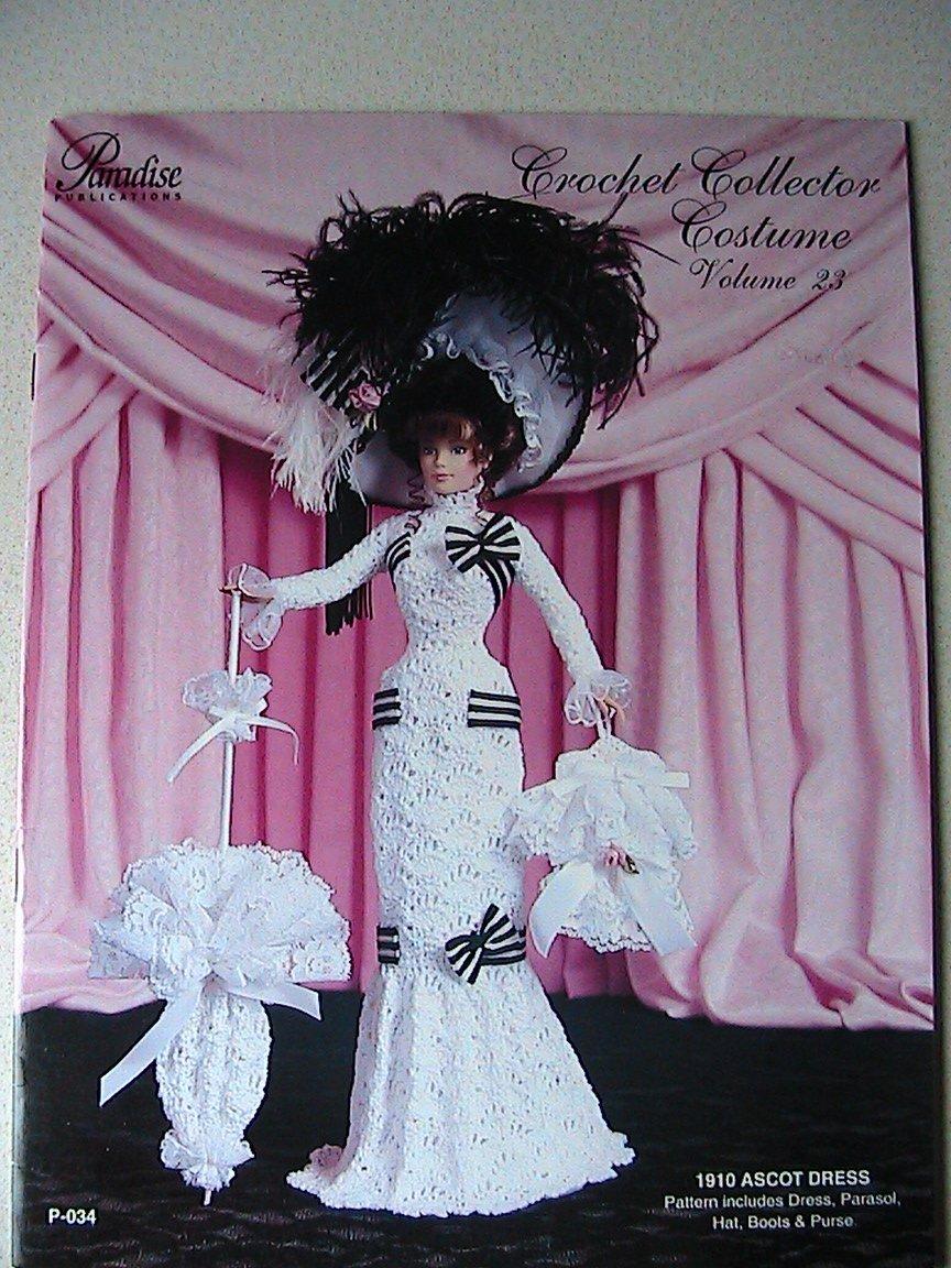 1910 Ascot Dress - Crochet Collector Costume