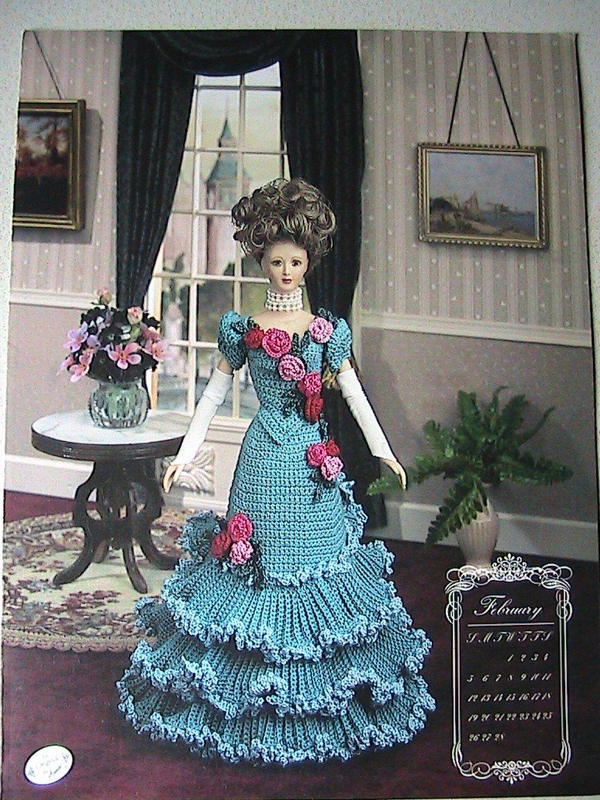 February 1994 - Calendar Bed Doll Society - Annie's Attic