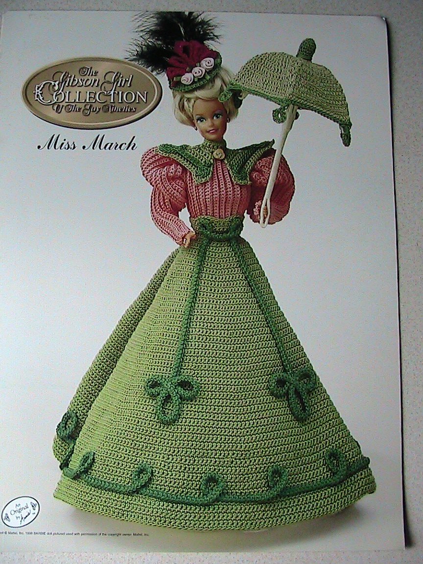 SOLD-Miss March - Gibson Girl Collection of the Gay Nineties - Annie's Attic