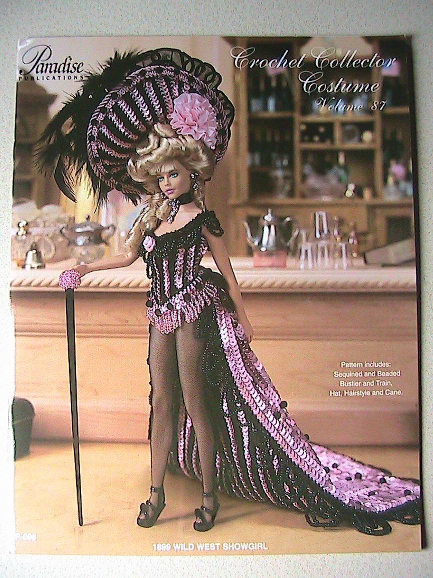 1899 Wild West Showgirl - Crochet Collector Costume