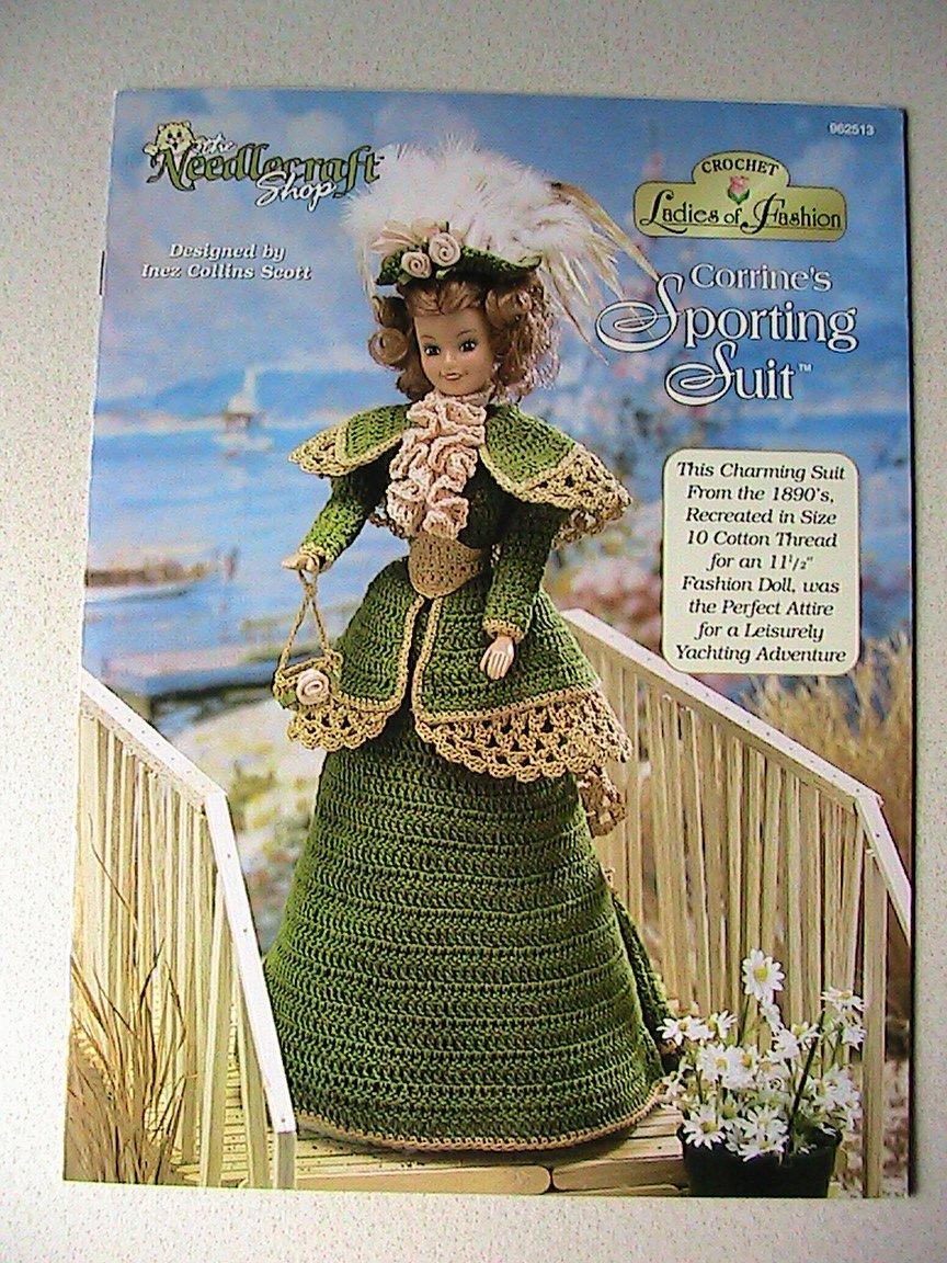 Crochet Ladies of Fashion ~ Corrine's Sporting Suit