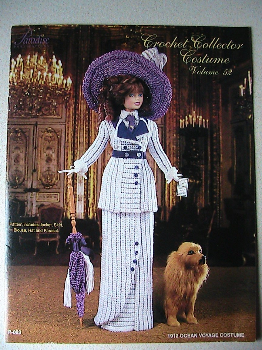 1912 Ocean Voyage Costume For Fashion Doll - TITANTIC