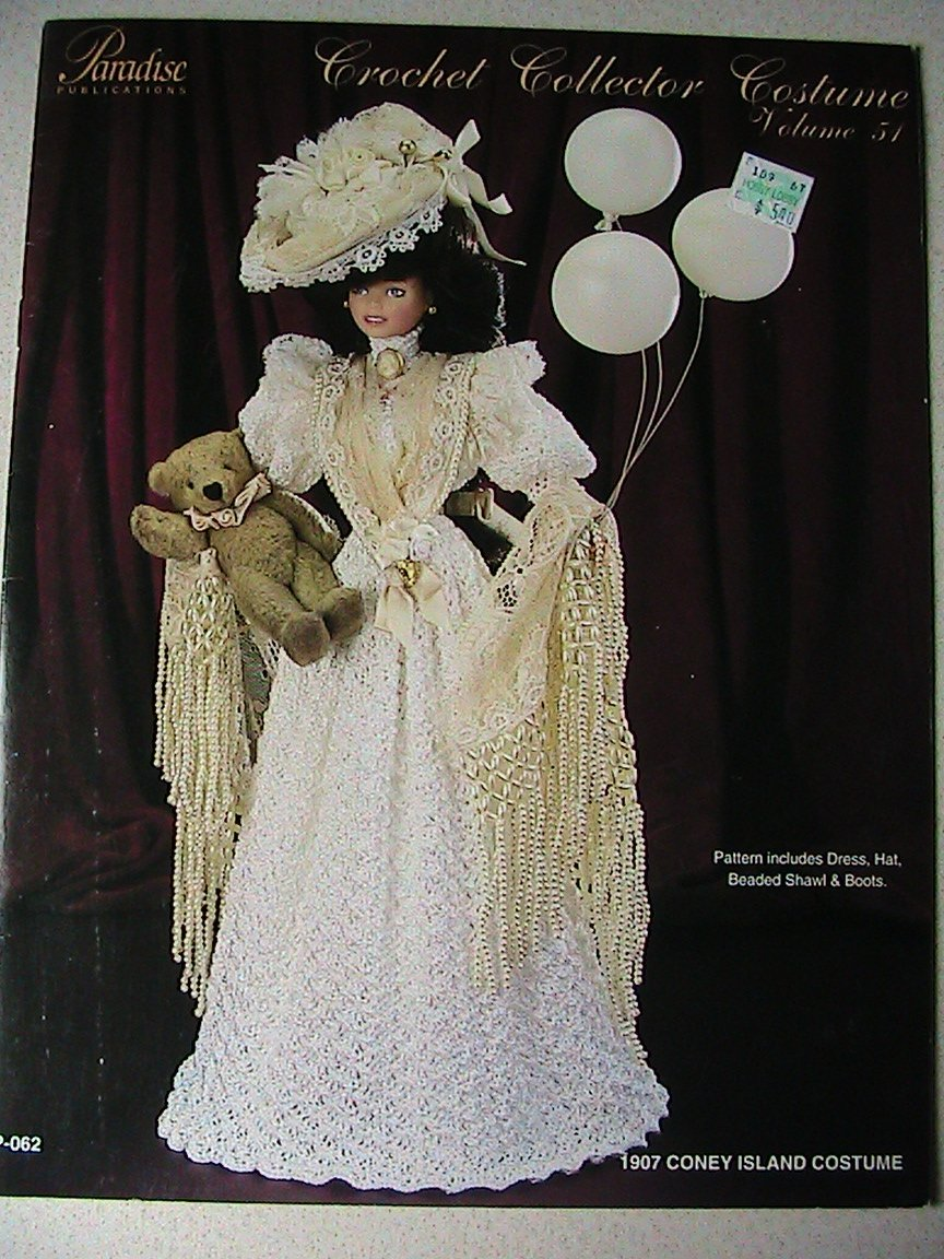1907 Coney Island Costume For Fashion Doll