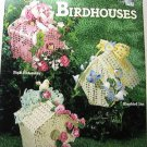 Thread Crochet Birdhouses To Crochet