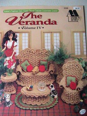 Annie's Attic Fashion Doll Home Decor - The Veranda - 529B