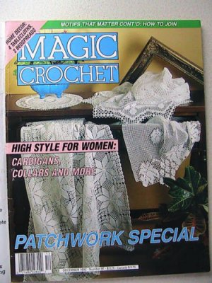 MAGIC Crochet - December 1992