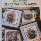Bouquets & Blossoms by Paula Vaughan - Leisure Arts Leaflet 2942