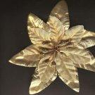 Silk Flower head buds - gold - 138 count