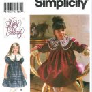 Simplicity 9377 Rare Editions Girls Toddler Party Dress Sewing Pattern UNCUT