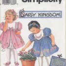 Simplicity 8316 Daisy Kingdom Girls Dress Sewing Pattern CUT