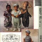McCall's 5317 - Toddler Girls dress Vintage Sewing Pattern CUT