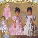Butterick 6428 Girls Flower girl Dress Sewing Pattern CUT