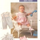 Butterick 3218 Toddler Girls dress romper Sewing Pattern CUT