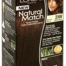 L'Oreal Natural Match hair color 3W 3 W Brown Black by l oreal