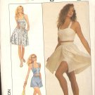 Simplicity 8636 dress halter shorts size 10 12 14 Sewing Pattern UNCUT