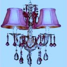 Lavender purple Mini Chandelier Shade by Villa Bacci