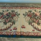 """Cornucopia Floral Tapestry Table Runner Cloth 45"""""""